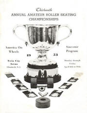 1953 New Jersey Roller Skating Championship Program
