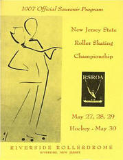 1967 New Jersey Roller Skating Championship Program