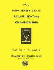 1970 New Jersey Roller Skating Championship Program