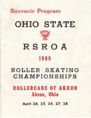 1955 Ohio State Championship Program