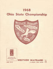 1968 Ohio State Roller Skating Championship Program