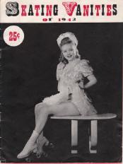 1942 Skating Vanities Program Cover