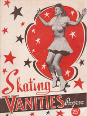 1943 Skating Vanities Program Cover