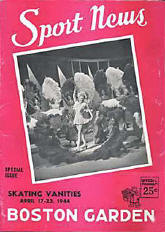 1944 Skating Vanities on the Cover of Sport News
