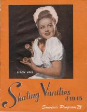 1945 Skating Vanities Program Cover