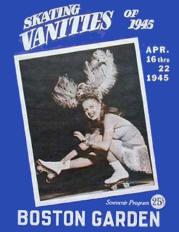 1945 Skating Vanities Program Cover (Boston)