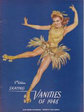 1948 Skating Vanities Program Cover