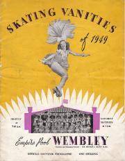 1949 Skating Vanities Program Cover (International)