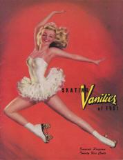 1951 Skating Vanities Program Cover