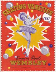 1951 Skating Vanities Program Cover (England)