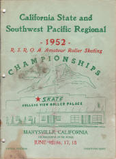 1952 Southwest Pacific Regional Championship Program