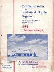 1954 Southwest Pacific Regional Championship Program
