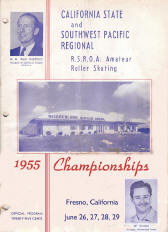 1955 Southwest Pacific Regional Championship Program