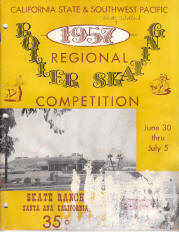 1957 Southwest Pacific Regional Championship Program