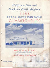 1958 Southwest Pacific Regional Championship Program