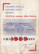 1959 Southwest Pacific Regional Championship Program