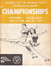 1962 South West Pacific Regional Championship Program