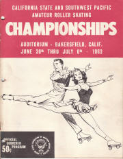 1963 South West Pacific Regional Championship Program