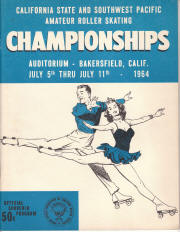 1964 South West Pacific Regional Championship Program