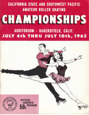 1965 South West Pacific Regional Championship Program