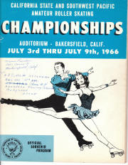 1966 South West Pacific Regional Championship Program