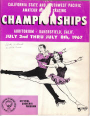1967 South West Pacific Regional Championship Program