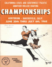 1968 South West Pacific Regional Championship Program