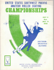 1970 South West Pacific Regional Championship Program