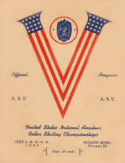 1944 USARSA National Championship Program