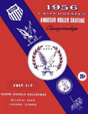 1956 USARSA Roller Skating Championship Program