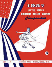 1957 USARSA Roller Skating Championship Program