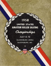 1958 USARSA Roller Skating Championship Program