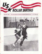 US Roller Skating Magazine - November 1989