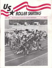 US Roller Skating Magazine - April 1990