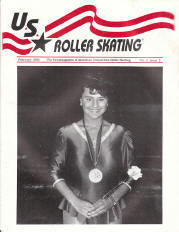 US Roller Skating Magazine - February 1990