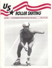 US Roller Skating Magazine - July 1990