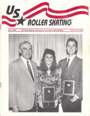 US Roller Skating Magazine - June 1990