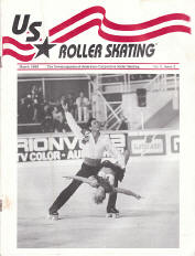 US Roller Skating Magazine - March 1990