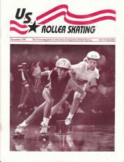US Roller Skating Magazine - November 1990