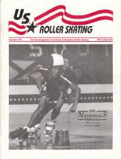 US Roller Skating Magazine - October 1990