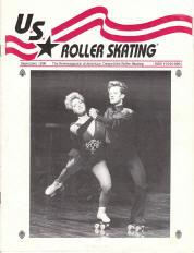 US Roller Skating Magazine - September 1990
