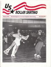 US Roller Skating Magazine - February 1991
