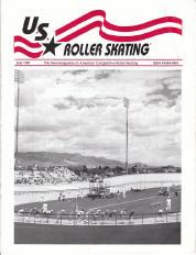 US Roller Skating Magazine - July 1991