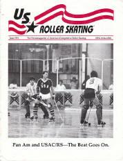 US Roller Skating Magazine - June 1991