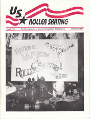 US Roller Skating Magazine - March 1991