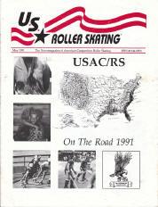 US Roller Skating Magazine - May 1991