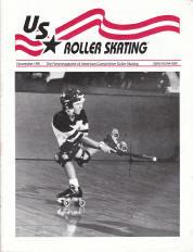 US Roller Skating Magazine - November 1991
