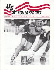 US Roller Skating Magazine - October 1991