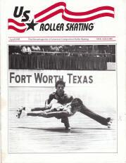 US Roller Skating Magazine - April 1992