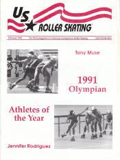US Roller Skating Magazine - February 1992